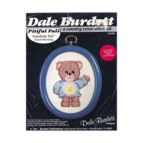 Stitch Cross Morning - Dale Burdett Pitiful Pals Sunshine Pal Good Morning Miniature Cross Stitch Kit