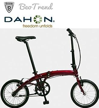 """Dahon - Bicicleta plegable dahon curve color d3 rueda de 16"""" 3 velocidades, color"""