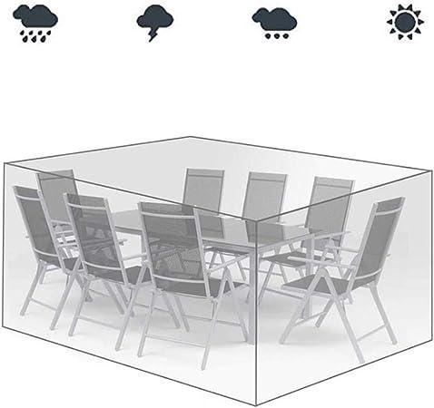 AGLZWY Transparente Jardín Funda Muebles Funda Protectora Lona El Plastico Interior Terraza Sofá Mesa Y Silla A Prueba De Polvo, 31 Tamaño (Color : Clear, Size : 242x162x100cm): Amazon.es: Hogar