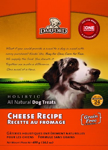 UPC 064863024849, Darford Holistic All Natural Grain Free Cheese Recipe Dog Treats, 14.1-Ounce