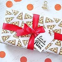 Papel de envoltura pizza