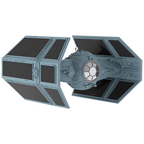 (Star Wars Darth Vader's TIE Fighter Sound Ornament with Light Sci-Fi)