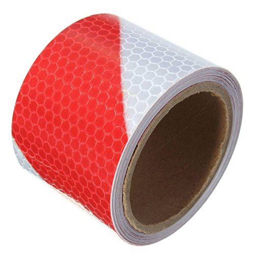 King Do Way 3m Red White Twill Reflective Self Adhesive