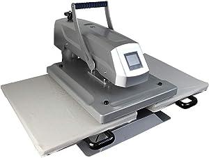 "CALCA 16""x24"" Manual Dual Platen Sublimation Heat Press Machine"