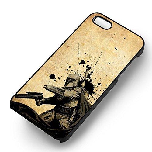Art Of Boba pour Coque Iphone 6 et Coque Iphone 6s Case (Noir Boîtier en plastique dur) M1G2XX