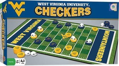 - MasterPieces Collegiate West Virginia Checkers Game