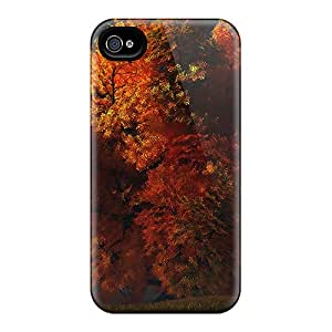 Snap-on Case Designed For Iphone 4/4s- Beautiful Tree