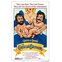 """Cheech and Chong The Corsican Brothers - Authentic Original 27"""" x 40"""" Folded Movie Poster"""