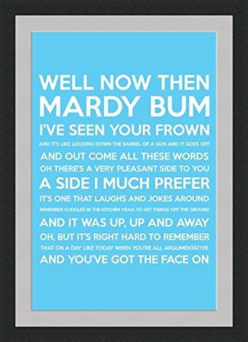 Behind the glass mardy bum song lyrics blue framed mounted behind the glass mardy bum song lyrics blue framed mounted stopboris Images
