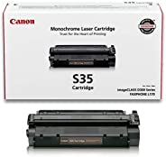 Canon Genuine Toner, Cartridge S35 Black (7833A001), 1 Pack, for Canon imageCLASS D320, D340, FAXPHONE L170