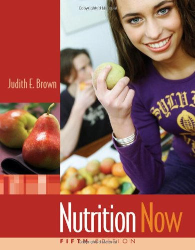 Nutrition Now by Wadsworth Publishing