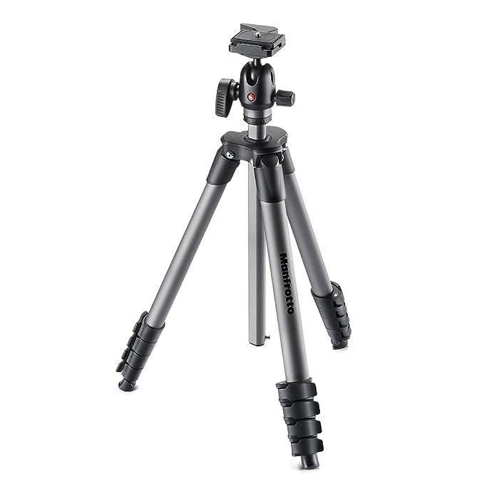 28 opinioni per Manfrotto MKCOMPACTADVBH treppiede Fotocamere digitali/film 3 gamba/gambe Nero