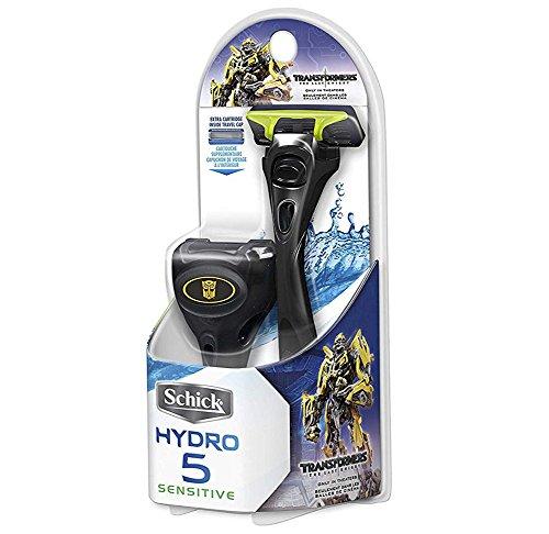Schick Hydro 5 Sensitive Razor with Travel Cap (Transformers Edition) by Schick