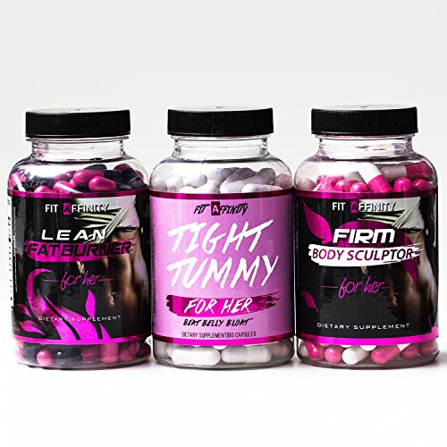 Fit-Affinity-Weight-Loss-Bundle-Lean-Fat-Burner-Tight-Tummy-Firm-Body-Sculptor