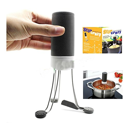 Stir Crazy Automatic Hands Free Sauce Stirrer Electric Blender Automatic Mixer by Unknown