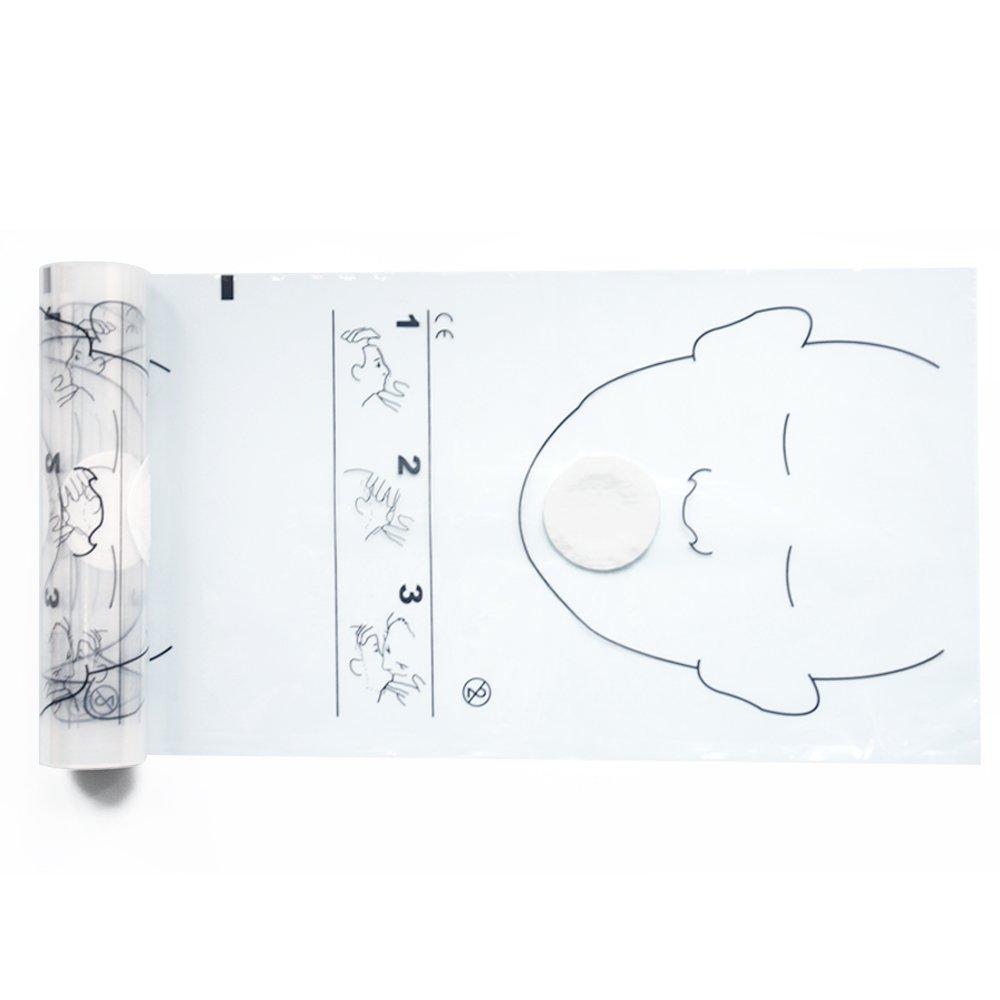 KONMED 36個/ロール 人工呼吸用 携帯感染防止マスク キューマスク (10) 10  B01A6KERN4