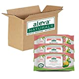 Aleva Naturals Bamboo Baby Wipes, Sensitive, 216 Count (Pack of 4)