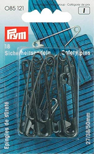 TM YEQIN 38mm 1.5 Pack of 50 Gold Kilt Safety Pins