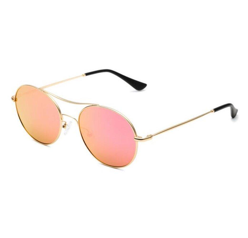 SHULING Sonnenbrille Mode Dame Polarisierte Sonnenbrille Big Box Elegante Retro Sonnenbrille Persönlichkeit