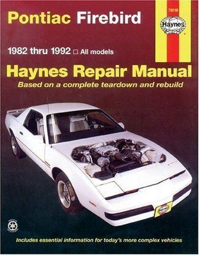 pontiac firebird manual - 4