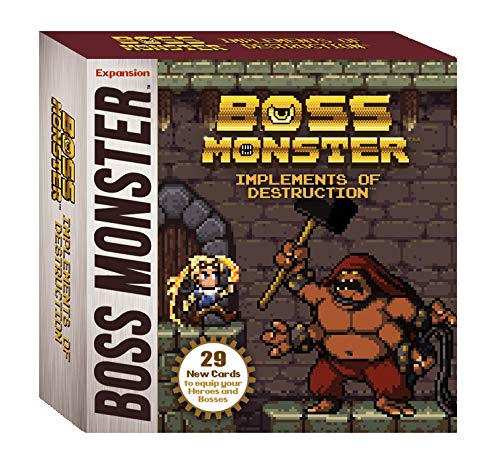 (Brotherwise Games Boss Monster Implements of Destruction Board)