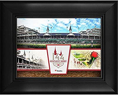 "Kentucky Derby 144 Framed 5"" x 7"" Event Collage - Fanatics Authentic Certified - College Player Plaques and Collages"