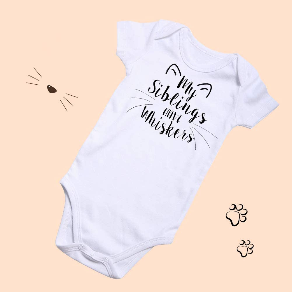 UNIFACO Funny Baby Boys Girls Bodysuit Premium Organic Cotton One-Piece Outfits for 0-12 Months