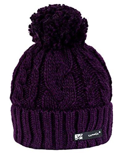 Venta de lana Sombreros Hombre Mujer 4 de Sombrero de Esqu Sombrero de invierno Sombrero gorro Iris invierno de dAASqwH
