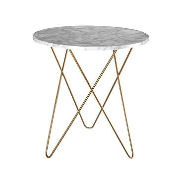 Amazon.de: XZG Marmor Kleine Runde Tisch Kreative Wohnzimmer Mehrere ...
