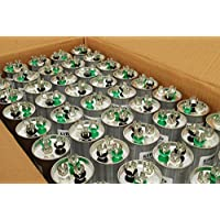 TEMCo 25 LOT Dual Run Capacitor RC0123-50/5 mfd 370 V 440 V VAC volt 50+5 uf AC Electric Motor HVAC