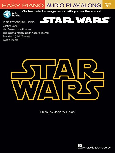 Star Wars: Easy Piano Play-Along Volume 31 (Easy Piano Cd - Cd Accompaniment No