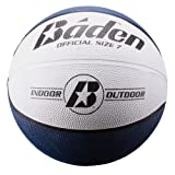 Baden Official  Rubber Basketball, Navy/White, 29.5-Inch