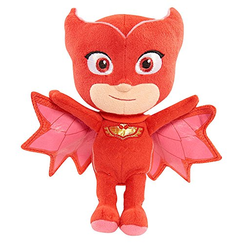 JLoisos Accessories PJ Masks Owlette Plush Stuffed Doll Toys for Kids Children Boys Girls (10 Inch Height) Action Plush
