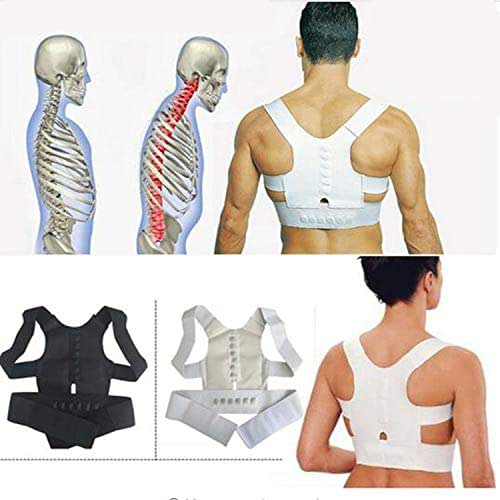 Unisex Magnetic Back Shoulder Support Posture Corrector Adult Teenager Corset Spine Brace Back Belt