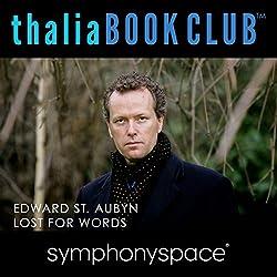 Thalia Book Club: Lost for Words by Edward St. Aubyn
