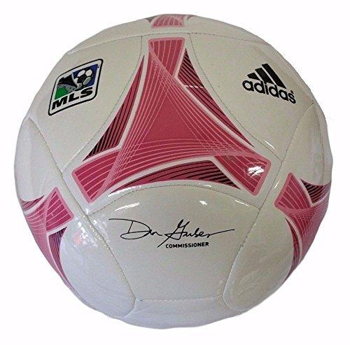 Adidas 2013 MLS GLIDER SOCCER BALL WITH MLS LOGO [WHITE] (SIZE (Soccer Ball Logo)