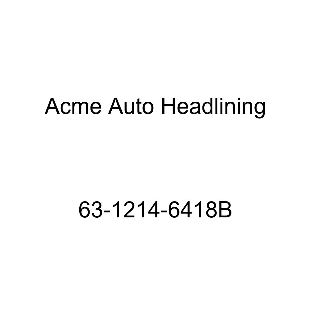 Oldsmobile Dynamic /& Super 88 4 Door Holiday Hardtop 6 Bow Acme Auto Headlining 63-1214-6418B White Replacement Headliner