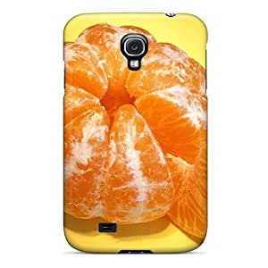 Premium NcWshiP62HFDWq Case With Scratch-resistant/ Tangerine Food Case Cover For Galaxy S4