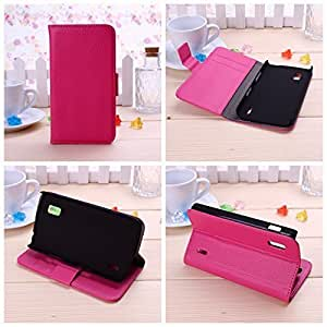 Wkae? Fashion New Pocket Wallet PU Leather Case Flip Cover Stand for LG E960 by Diebell