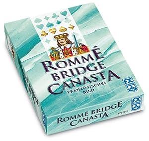 Ravensburger 27072 - Rommé, Canasta, Bridge