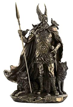 Norse God Odin Sculpture