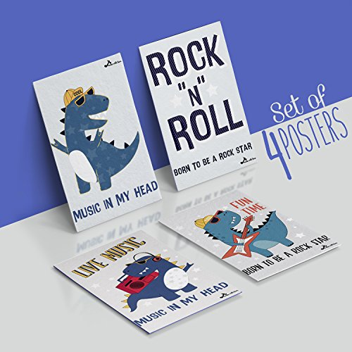 Made With Tone, Nursery Decor: Born to Be a Rockstar, Music Decor for Baby Room! Wall Art for Music -