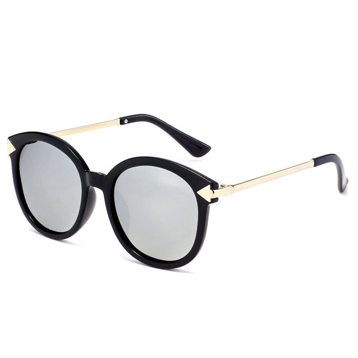 Wkaijc Runder Rahmen Polarisiert Pfeile Bunt Männer Und Frauen Mode Persönlichkeit Kreativität Komfort Sonnenbrille,Blue