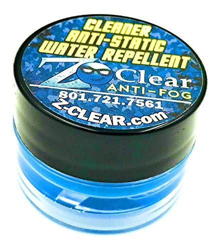 Z Clear Wax Paste Anti Fog for Glasses and Goggle Defogger for Outdoor Sports and Scuba Accessories - Safe on All Lenses (1 Jar)