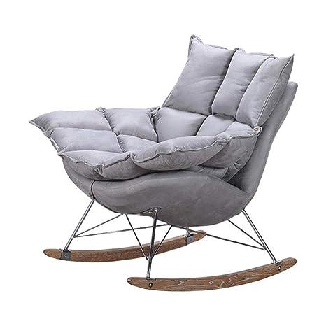 Amazon.com: Sillón de salón, mecedora, silla de salón, silla ...