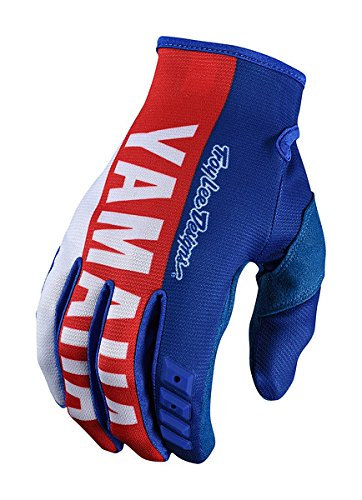 Troy Lee Designs GP TLD Yamaha RS1 Men's Off-Road Motorcycle Gloves - Blue / Large
