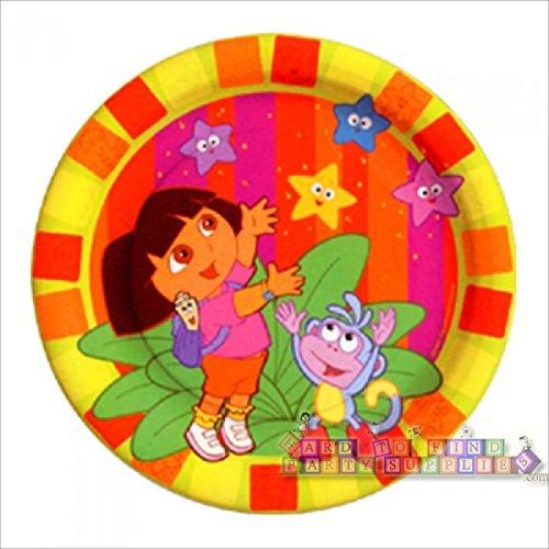 Dora the Explorer 'Star Catcher' Small Paper Plates (8ct)