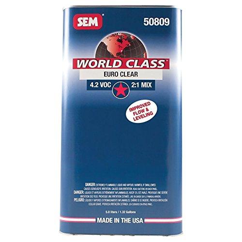 SEM 50809 World Class 4.2 VOC Euro Clear - 5 Liter