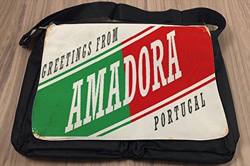 Borsa Tracolla Città Amadora Portogallo Stampato