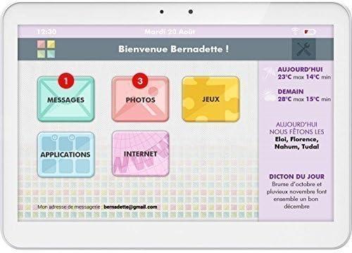 Tablet simplifiée facilotab WiFi + 3 G